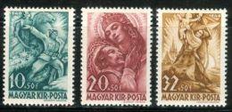 HUNGARY 1940 HISTORY Art Paintings TRANSILVANIA - Fine Set MNH - Ungheria