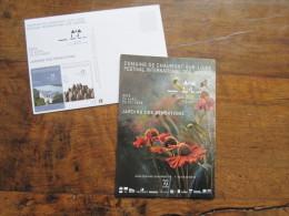 Plaquette 20 Pages (30x10 Cm) : Festival International Des Jardins, Chaumont Sur Loire. 2013 Avec 1 Carte Postale - Non Classés