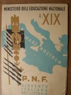 Sommariva Perno - Pagella A. XIX  P.N.F. - Diplomi E Pagelle