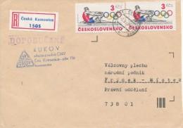 C10294 - Czechoslovakia (1985) 407 21 Ceska Kamenice (stamps: Olympic Games 1984 Los Angeles) - Summer 1984: Los Angeles