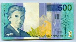 500 FRANCS  MARGRITTE - [ 2] 1831-... : Belgian Kingdom