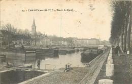71 CHALON SUR SAONE - Bassin Du Canal - Chalon Sur Saone
