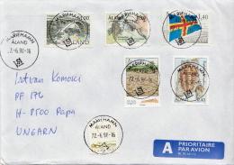 Postal History Cover: Aland - Aland