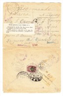 Ukraine R-Brief 18-7-1921 Nach St Louis USA Wegen Nicht Bekannt Zurück Gesendet - Ukraine