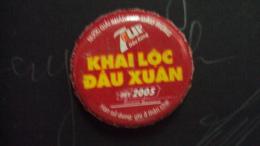 Vietnam 7 Up used bottle cap from Pepsi Vet nam - New Year 2005
