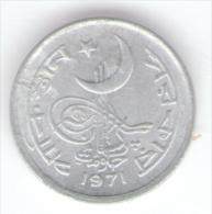 PAKISTAN 1 PAISA 1971 - Pakistan