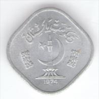 PAKISTAN 5 PAISA 1974 - Pakistan
