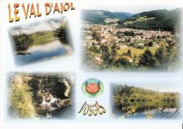 Le Val D´Ajol (Plombières Les Bains-Vosges)-Multivues -Reflets Des Hautes-Vosges-ville-Géhard-Lac-blason - Stamps