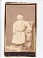 23886 Photographie Ancienne - Rennes 35 France -Photographe Louis COLLET Succ Mevius 11 Av Gare- Enfant - Personnes Anonymes