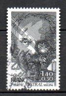 FRANCE. N°2098 Oblitéré De 1980. Prix Nobel De Littérature/F. Mistral. - Prix Nobel
