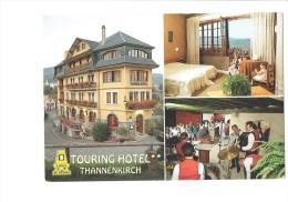 68 - THANNENKIRCH - Touring Hôtel Restaurant - Musiciens Orchestre Accordéon Batterie Danse Fillettes Ours Peluche - Musique Et Musiciens