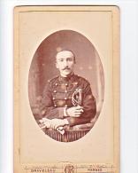 23899 Photographie Ancienne - Rennes 35 France -Photographe Graveleau Bou Liberté 21- Homme Militaire 10 - Guerre, Militaire