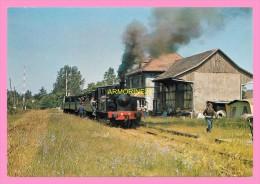 CPM CHEMIN DE FER TOURISTIQUE DE LA VALLEE DE LA DOLLER  Train  Avec De La Vapeur - Cernay