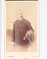 23904 Photographie Ancienne - Photographe F Marie Rue Mazagran Laval 53 -homme