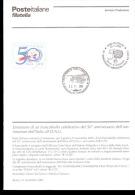 2005 Bollettino Cinquantenario Dell´ammissione Dell´Italia All´O.N.U. - UNO