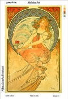 New Tapestry, Gobelin, Picture, Print, Mucha, Painting, Woman - Creative Hobbies