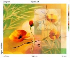 New Tapestry, Gobelin, Picture, Print, Floral Still Life, Flower, Poppy - Creative Hobbies