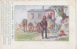 Transports - Roulotte - Nomade Bohémien Gitans - Postales