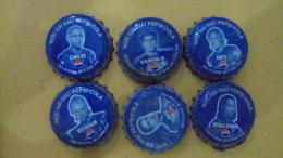 Full set of Vietnam Viet nam Pepsi bottle caps - Footballer