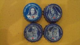 Full set of Vietnam Viet nam Pepsi bottle caps : Pop music singer : My Tam , Britney Spear , Pink & Beyonce