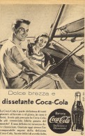 # COCA COLA Italy 1950s Advert Pubblicità Publicitè Reklame Food Drink - Advertising Posters