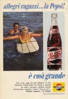 # PEPSI COLA Italy 1960s Advert Pubblicità Publicitè Reklame Food Drink - Posters