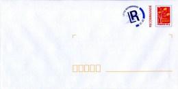 """PAP Recommandé Avec Timbre """"FRANCE 20 G - Arbre à Lettres - Rouge """" - Lettre Recommandée R1 AR - Lot B2J/08U638 - Entiers Postaux"""