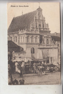 UKRAINE - RAWA RUSKA, Kirche, Markt, 1916, Deutsche Feldpost, Aus Militärischen Gründen Verzögert - Ukraine