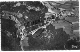 74 - PONT DE LA CAILLE SURPLOMBANT LES USSES - France