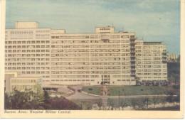BUENOS AIRES HOSPITAL MILITAR CENTRAL CPA CIRCA 1965 DOS DIVISE UNCIRCULATED - Health