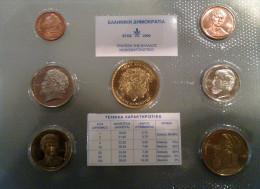 GREECE - MINT SET 2000 - SET Of 7 COINS UNCIRCULATED - Grecia