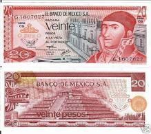 Mexico 20 Pesos 1977 Pick 64 UNC - Mexico