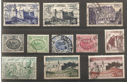 Tunisie Oblitérés + 2 P.A - Tunisie (1888-1955)