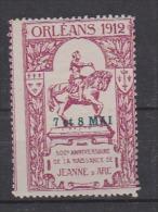 ORLEANS 1912,  7 Et 8 Mai Jeanne D'Arc - Andere