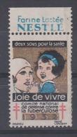 Joie De Vivre 1932 Deux Sous Pour La Santé Farine Lactée NESTLE - Antituberculeux
