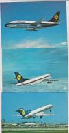 Lot De 9 Cartes Postales Modernes. Aviation Exclusivité Editions  P. I. - 1946-....: Ere Moderne