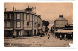 Villers Sur Mer Vue Animée De La Rue De Strasbourg Avec Commerces Carte ND Phot N° 68 ECRITE EN 1918 - Villers Sur Mer