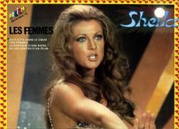 - POSTER SHEILA   . DOUBLE PAGE DU MAGAZINE PODIUM 1976 . - Plakate & Poster