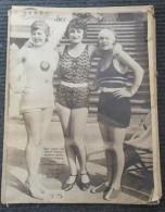 ILUSTROVANI LIST 1928 - SEZONA KUPANJA NA SAVI JE POCELA - Other
