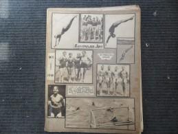 ILUSTROVANI LIST 1928 - PLIVACKI DANI U BEOGRADU - Other