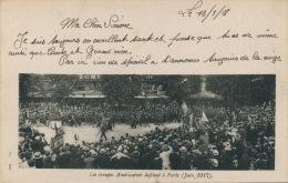 GUERRE 1914-18 - Les Troupes Américaines Défilent à Paris (Juin 1917) - Guerre 1914-18