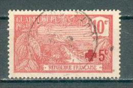 Collection GUADELOUPE ; Colonie ;  1915-17 ; Y&T N° 75 ; Lot  ; Oblitéré - Guadeloupe (1884-1947)