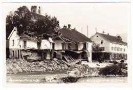 FL - Bendern Überschwemung - Wasserstand Am 26.9.1927 - Liechtenstein