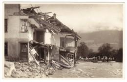 FL - Bendern Überschwemung - Alt. Zollhaus - Liechtenstein