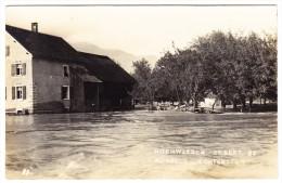 FL - Überschwemmung - Hochwasser 25.9.1927 Rugell - Liechtenstein