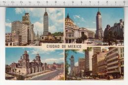 Ciudad De Mexico - Cuatro Vista De Mexico (1963) - Mexique
