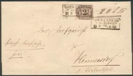 Preußen, Brief(Dienst NDP 5o ), Löwenberg(Schlesien)-Heinersdorf, Feinst/pracht - Preussen