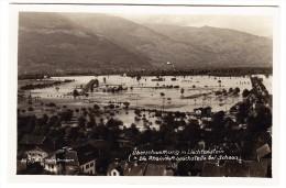 FL - Überschwemmung -  Rheindambruchstelle Bei Schaan - Liechtenstein