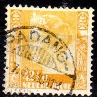 NETHERLANDS INDIES 1933  Queen Wilhelmina  -  421/2c. - Yellow  FU - Netherlands Indies