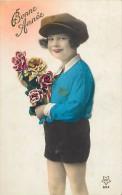 Themes - Enfants - Ref 445 -  Fantaisie - Portrait D Un Garçon  -  Carte Bon Etat - - Portraits